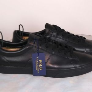 Polo Ralph Lauren Sayer US Size 14 Leather Sneaker